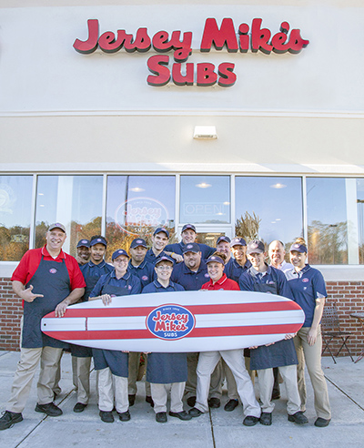 Jersey Mikes Norwich Team