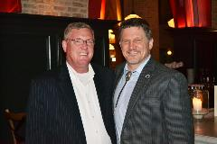 Mayor RonMcDaniel (left) and Chairman Kevin Brown (right)